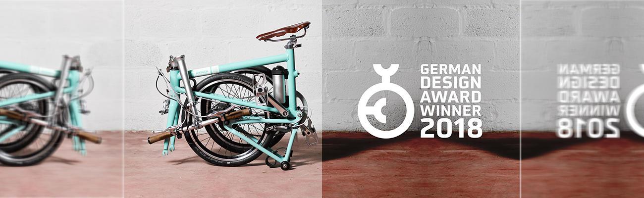 Ahooga : le vélo électrique pliant, hyperléger et design, débarque en France