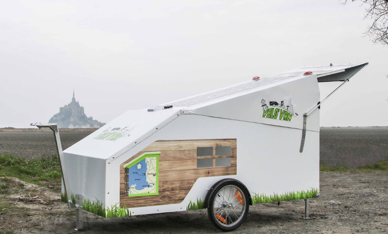 La caravane pour vélo