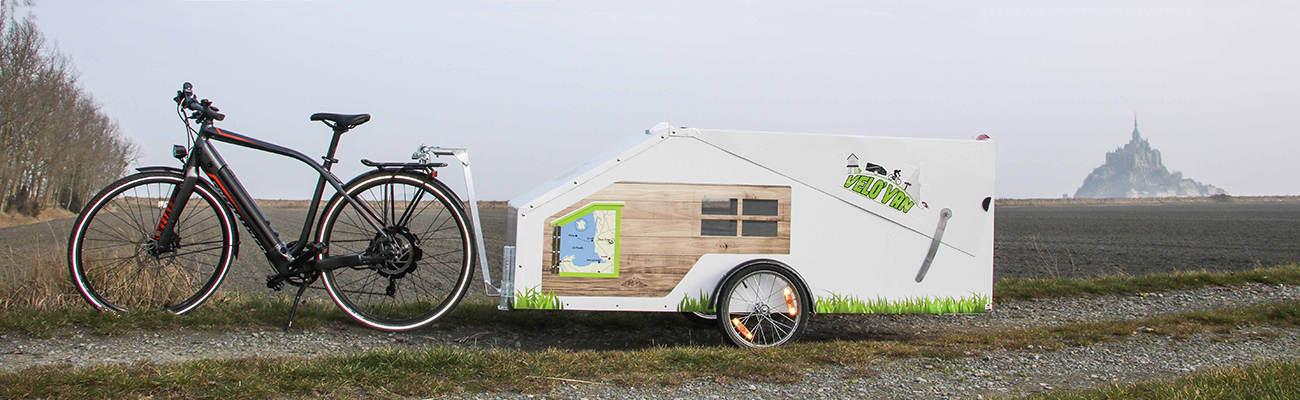 Le vélo en 2017 : son concept de remorque-caravane primée au concours Lépine