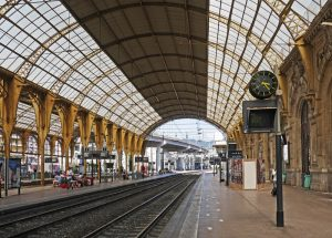 La gare française de Nice