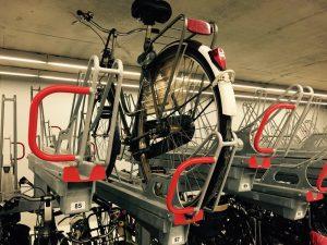 Plus de parkings vélo dans les gares françaises