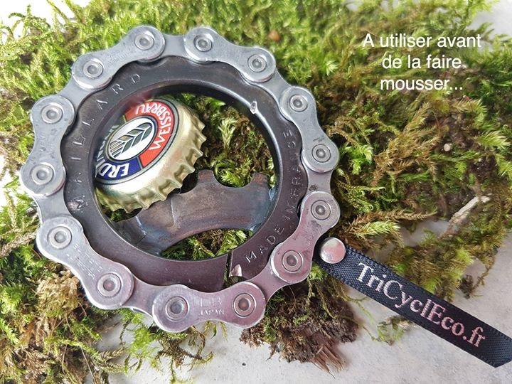 Décapsuleur pignon fixe vélo