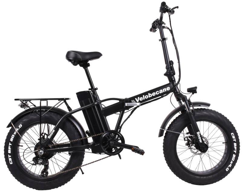 Vélobecane noir