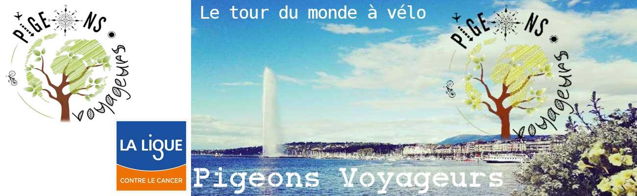 Pigeons Voyageurs, le tour du monde à vélo vert et solidaire