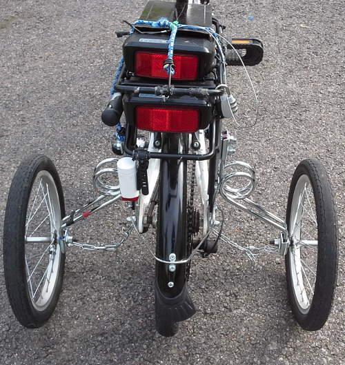 Petites roues vélo pour adulte