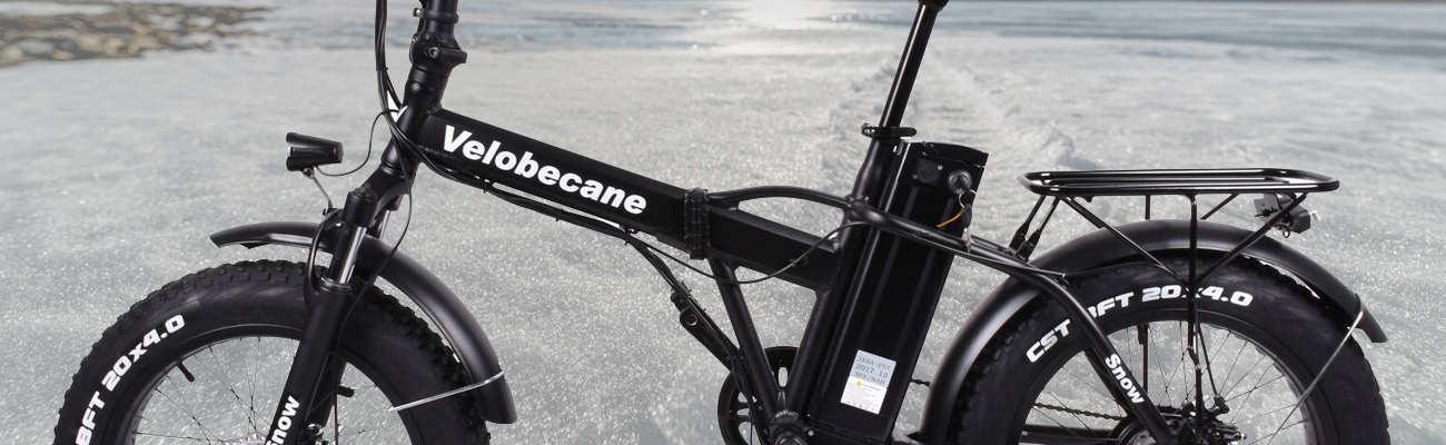 Vélo électriquetout terrain: le Snow