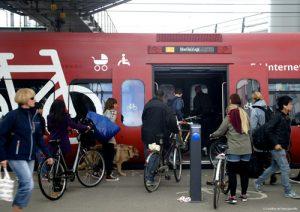 prendre le train avec son vélo en Europe