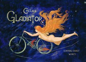 Poster femme gladiator
