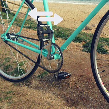 Schéma vélo pour contrôler le boitier