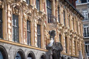 Façade de la Bourse à Lille