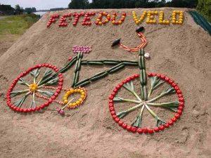 Déco à l'occasion de la journée mondiale du vélo
