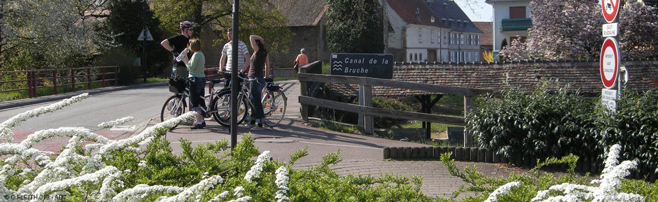 Le canal de la Bruche, une belle randonnée à vélo sur l'EuroVelo 5