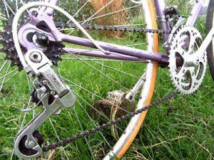 Dérailleur sur vélo