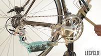 Boitier nettoyant chaine vélo