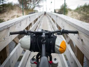 Sacoche de guidon bikepacking