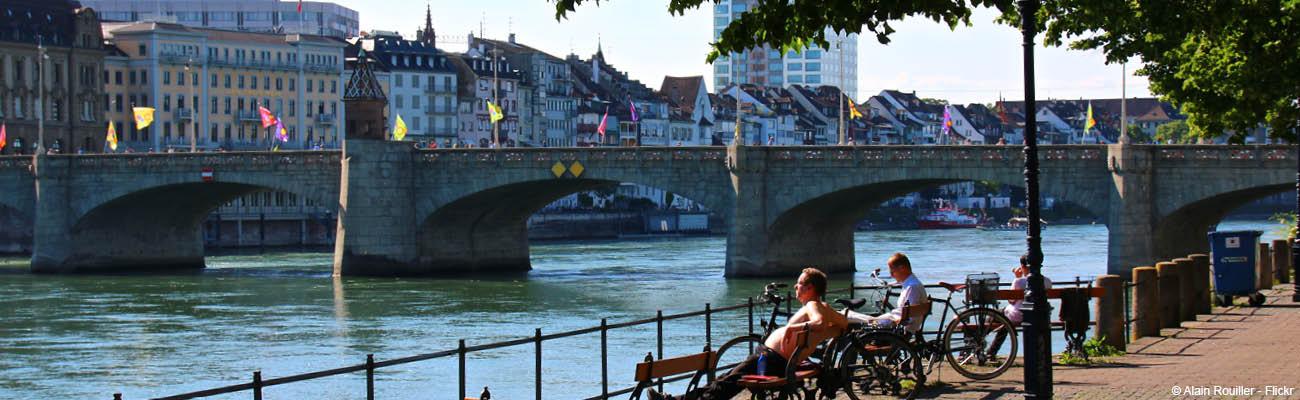 Canal de Huningue : promenade à vélo sur l'EuroVelo 15