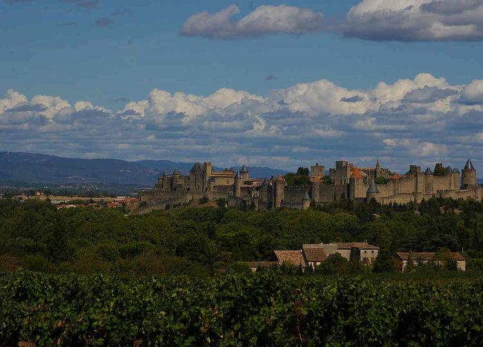 Faire du vélo à Carcassonne