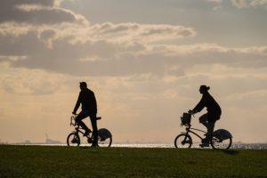 Aller à la plage à vélo, la Côte atlantique