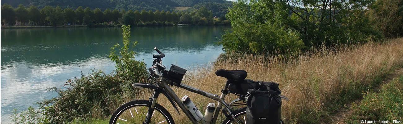 Vélotourisme sur l'EuroVelo 17, la Véloroute du Rhône