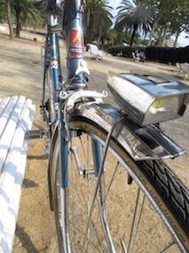 Vélo ancien rénové