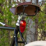 Eclairage vélo sans pile Nova Reelight sur tige de selle