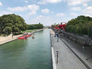 Villette, vélo à Paris