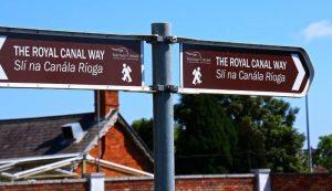 Canal Royal Dublin sur l' EuroVelo 2