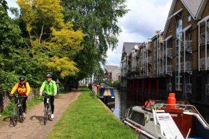 Itinéraire vélo à Londres