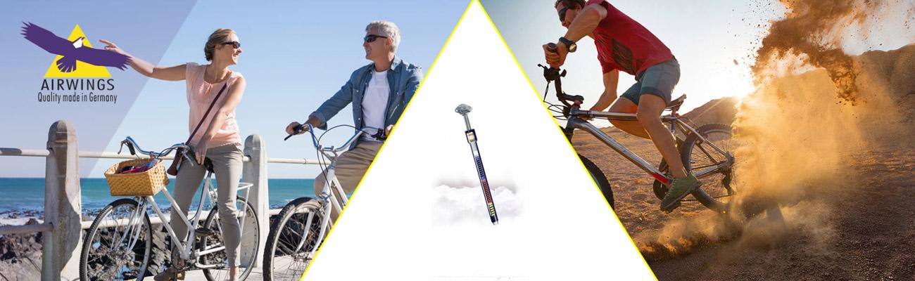 La marque AIRWINGS, quelle tige de selle pour quel cycliste?