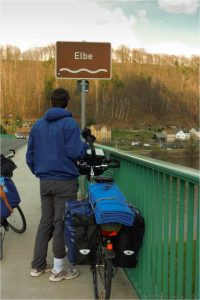 Traverser l'Europe à vélo le long de l'Elbe