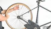 Placer le vélo pour démonter le pneu