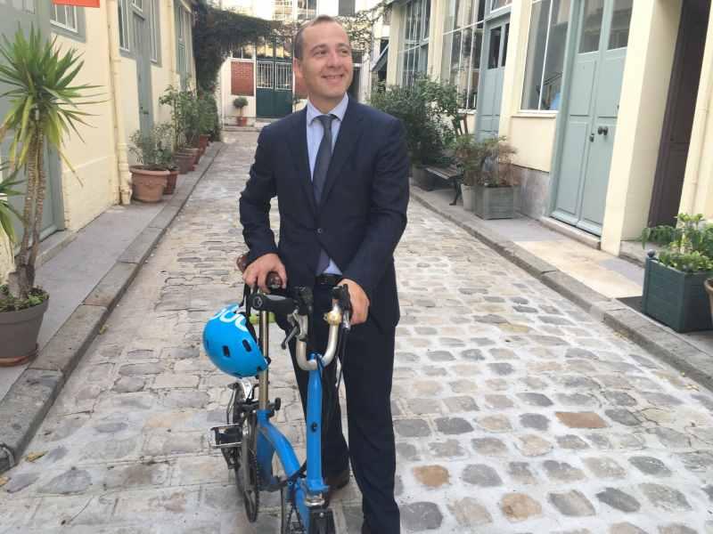 Olivier Renaud, un entrepreneur qui a mis en place l' IKV