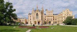 Le château de Lednice en République Tchèque