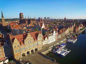 Gdańsk, départ de l'EV 9