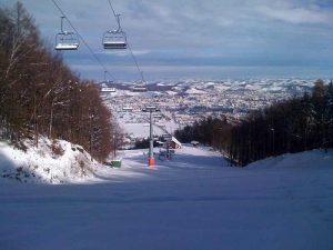Maribor vu depuis une station de ski