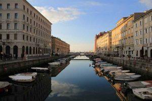 Voyage à vélo à Trieste