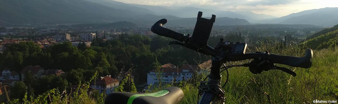 Portrait: Mathieu Fiollet, voyageur à vélo, voulait parcourir le monde