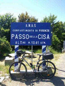 L'étape galère du Passo della Cissa en Italie