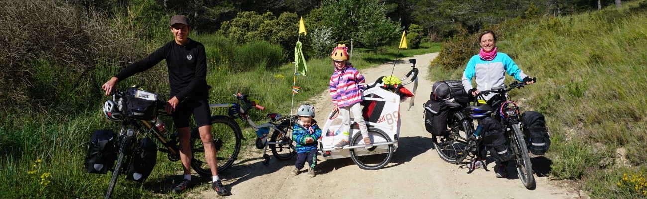 Graines de Baroudeurs : l'histoire écrite d'un voyage à vélo en famille