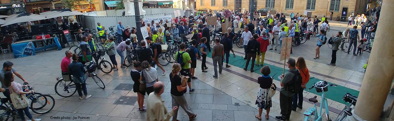 Julie : militante dans une association vélo à Aix-en-Provence