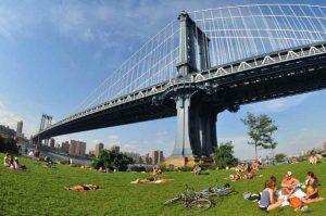 Le Manhattan Bridge depuis DUMBO