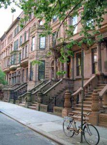 La quartier d'Harlem, propice à la bicyclette