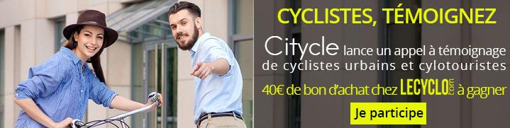 Appel à témoignages cyclistes