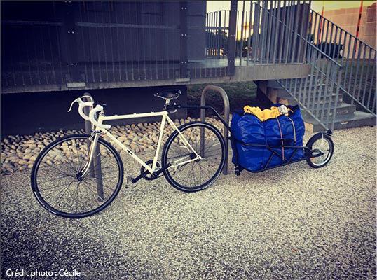 Le pignon fixe équipé pour le voyage vélo