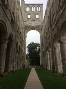 Les ruines romantiques de l'Abbaye de Jumièges
