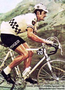 Bernard Thévenet en 1970 (premier Tour de France)