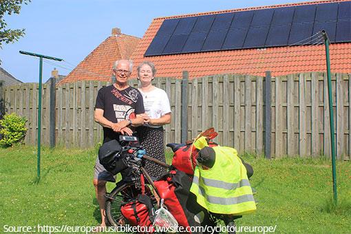 Tour d'Europe à vélo aux Pays Bas
