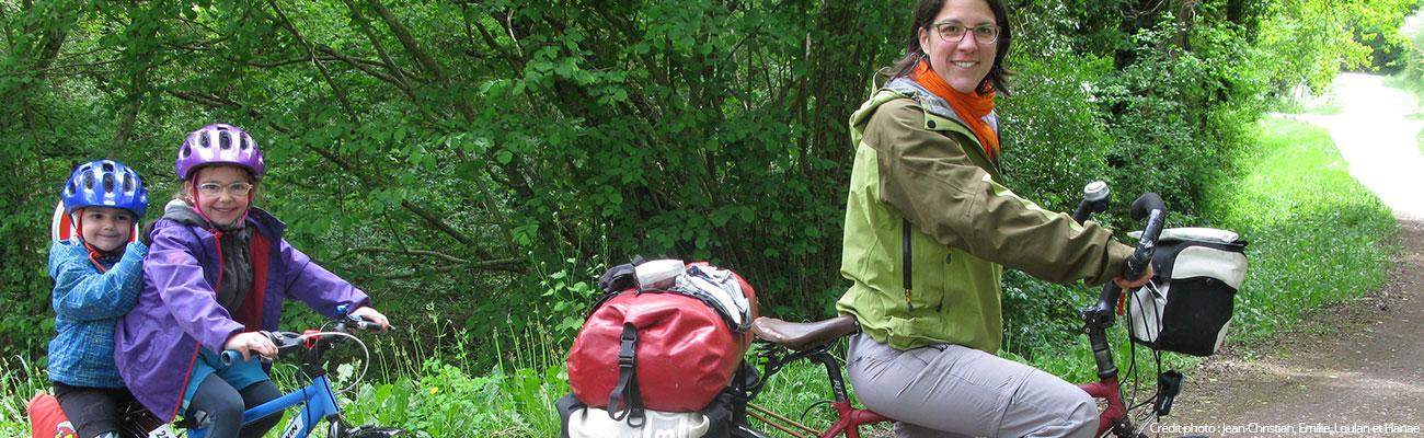 Vacances à vélo en famille, ou comment éviter la lassitude