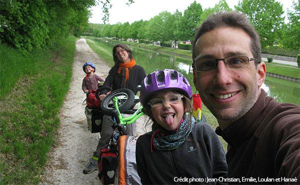 Vacances à vélo avec toute la famille