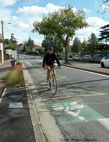 Guillaume, vélotafeur à Bordeaux